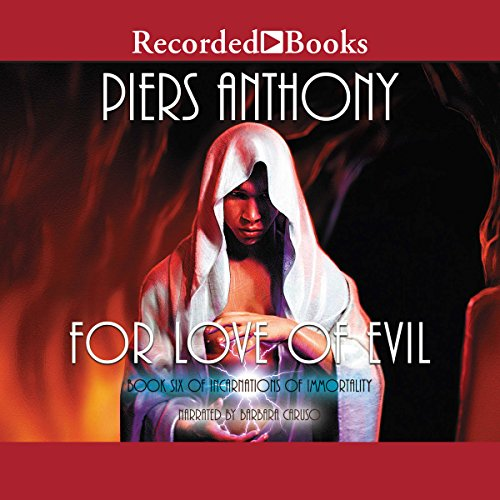 For Love of Evil audiobook cover art