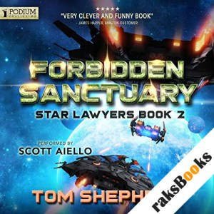 Forbidden Sanctuary audiobook cover art
