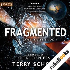 Fragmented audiobook cover art