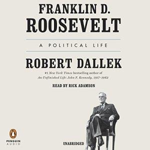 Franklin D. Roosevelt audiobook cover art