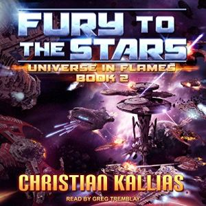 Fury to the Stars audiobook cover art