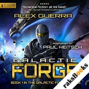 Galactic Forge audiobook cover art
