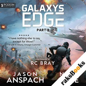 Galaxy's Edge, Part III audiobook cover art