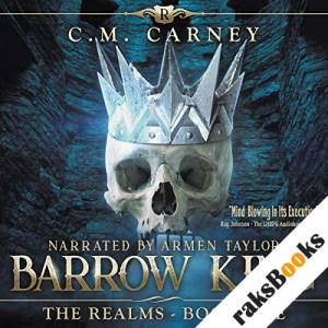 Barrow King: An Epic LitRPG/GameLit Adventure audiobook cover art