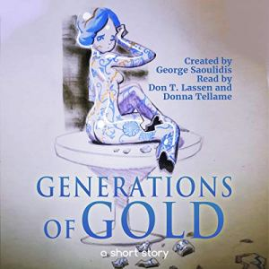 Generations of Gold audiobook cover art