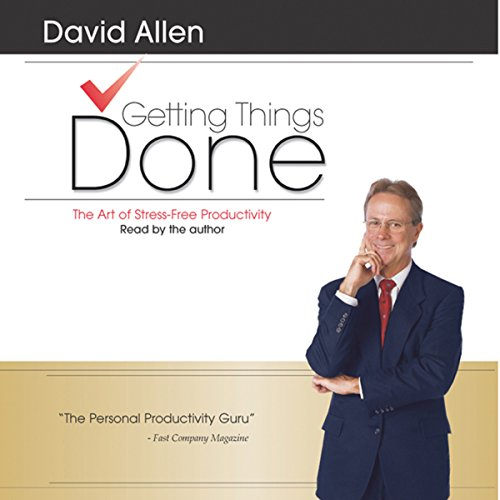 Getting Things Done audiobook cover art