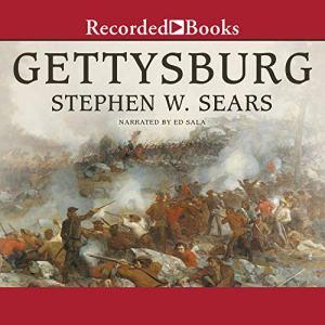 Gettysburg audiobook cover art