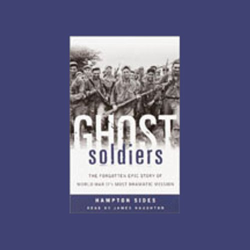 Ghost Soldiers audiobook cover art