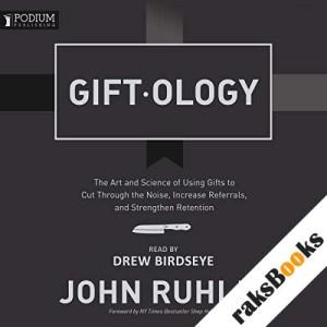 Giftology audiobook cover art
