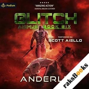 Glitch audiobook cover art