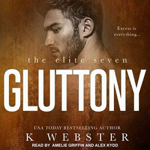 Gluttony audiobook cover art