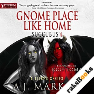 Gnome Place Like Home audiobook cover art