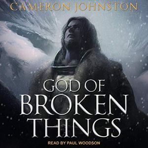 God of Broken Things audiobook cover art