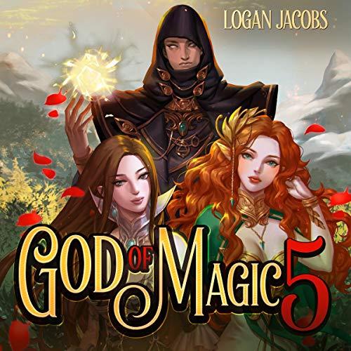 God of Magic 5 audiobook cover art