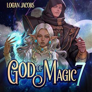 God of Magic 7 audiobook cover art