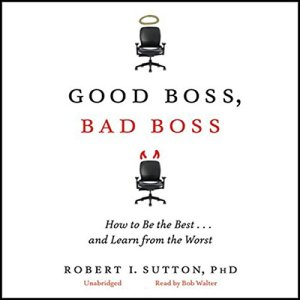Good Boss, Bad Boss audiobook cover art