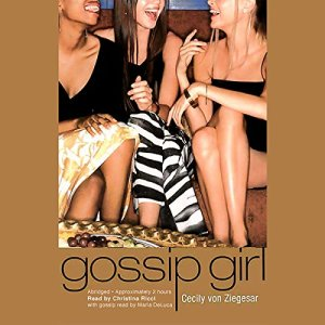 Gossip Girl audiobook cover art