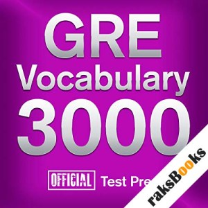 GRE Vocabulary 3000: Official Test Prep audiobook cover art