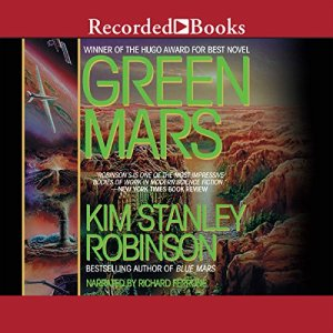 Green Mars audiobook cover art