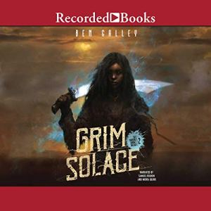 Grim Solace audiobook cover art