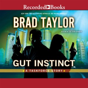 Gut Instinct audiobook cover art