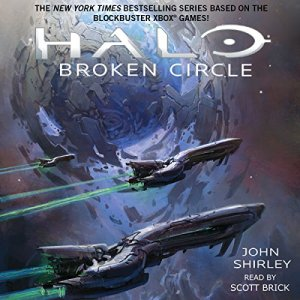 Halo: Broken Circle audiobook cover art