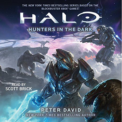 HALO: Hunters in the Dark audiobook cover art