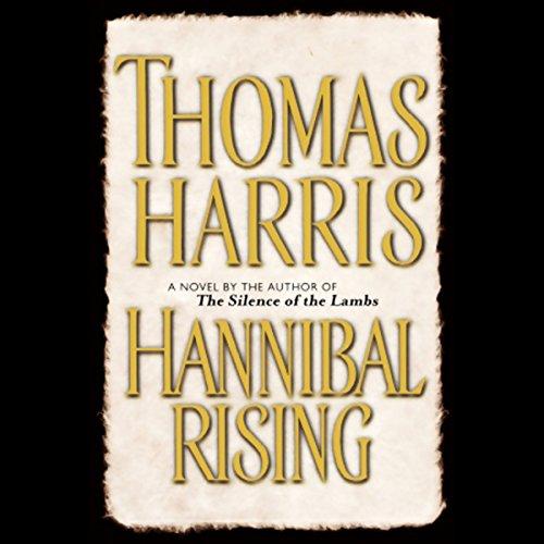 Hannibal Rising audiobook cover art