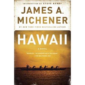 Hawaii audiobook cover art