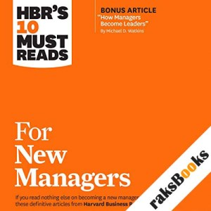 HBR's 10 Must Reads for New Managers audiobook cover art