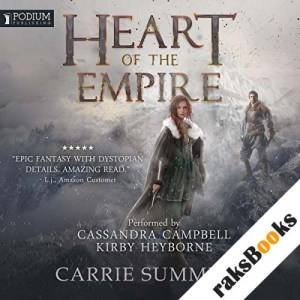 Heart of the Empire audiobook cover art