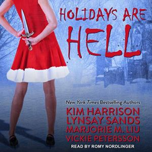Holidays Are Hell audiobook cover art