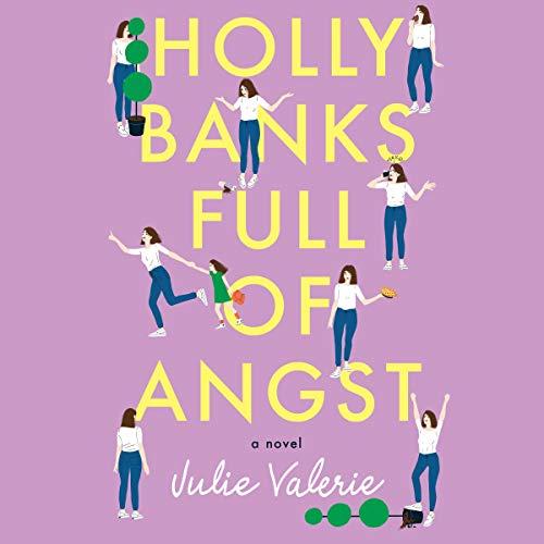 Holly Banks Full of Angst audiobook cover art