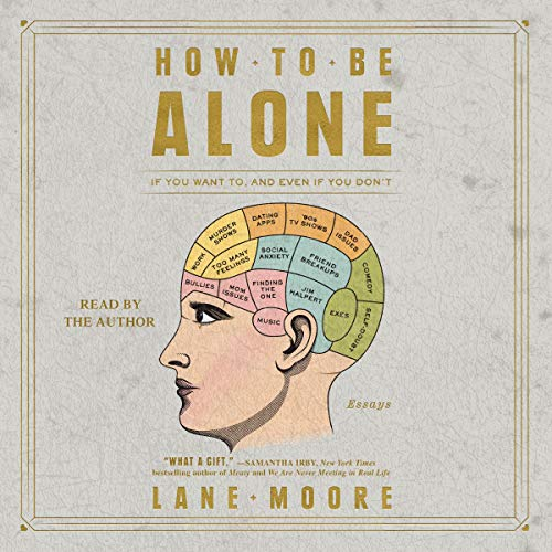 How to Be Alone audiobook cover art