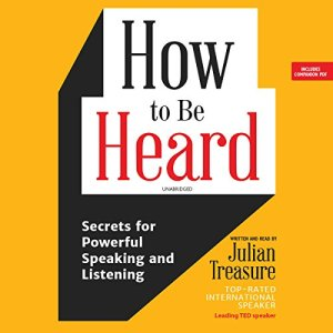 How to Be Heard audiobook cover art