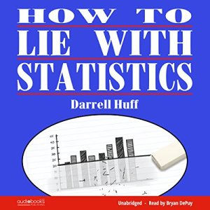 How to Lie with Statistics audiobook cover art