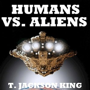 Humans Vs. Aliens audiobook cover art