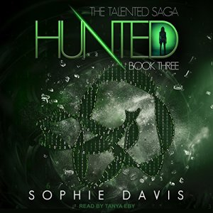 Hunted audiobook cover art