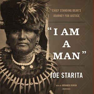 """""""I Am a Man"""" audiobook cover art"""