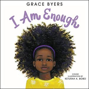I Am Enough audiobook cover art