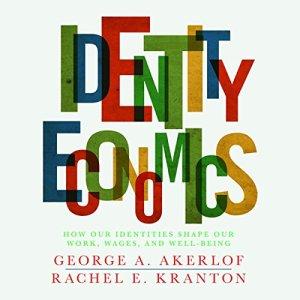 Identity Economics audiobook cover art