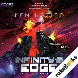 Infinity's Edge audiobook cover art