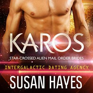 Intergalactic Dating Agency: Karos audiobook cover art