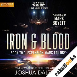 Iron & Blood audiobook cover art