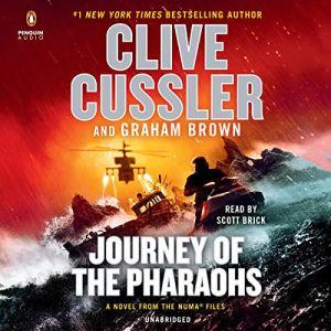 Journey of the Pharaohs audiobook cover art
