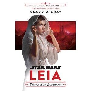 Journey to Star Wars: The Last Jedi Leia, Princess of Alderaan audiobook cover art