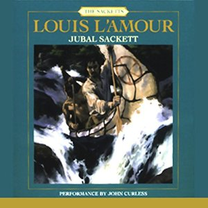 Jubal Sackett audiobook cover art