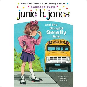 Junie B. Jones and the Stupid Smelly Bus audiobook cover art