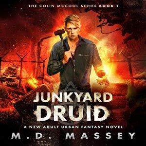 Junkyard Druid audiobook cover art