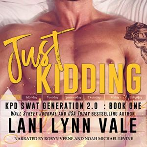 Just Kidding audiobook cover art